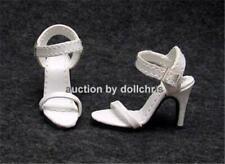 SHOES for Tonner TYLER Gene Dolls Sandals 3 straps White Kingstate New in Box