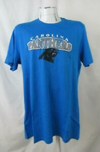 Carolina Panthers Mens Large or X-Large Screened Team T-Shirt ACPN 64