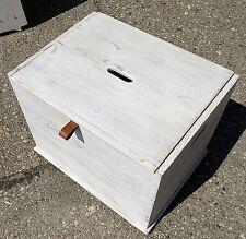 Massivholz Allzweck Truhe in Shabby Chic - Handarbeit / NEU aufgearbeitet