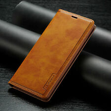 Leather Wallet Flip Case Cover FOR Samsung Galaxy S20 S20+ S8 S9 S10+ Note 10/9