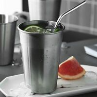 350/500ml Outdoor Tumbler Pint Metal Beer Cup 304 Stainless Steel Drinking Mug