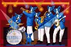 """George Rodrigue Blue Dog """"You Can't Drown the Blues"""" Signed Print"""
