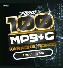 Zoom Karaoke 100 MP3+G Hits Of The 90s - DVD-ROM - needs Computer / MP3+G player