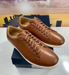 Cole Haan Grand Crosscourt Casual Brown Leather Shoe C26521 Men's Sz 9.5, 11, 13