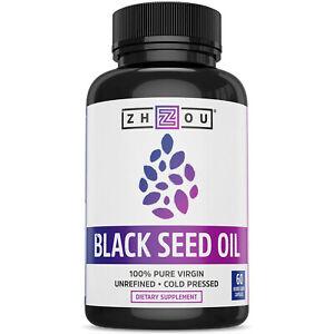 Zhou Black Seed Oil | 60 Caps