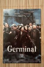 carte postale  film Germinal Renaud Depardieu Miou miou Carmet