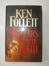 Book the pillars of the Earth Ken Follett 1989 First Edition
