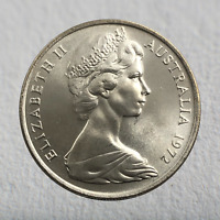 1972  Australian 10 Cent Uncirculated Rare Key Date Coin (Amazing Coin)🔥🔥