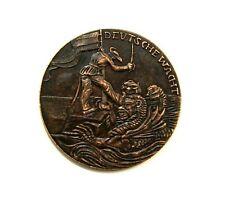 EXONUMIA MEDAL AN JAPAN 1914 / GERMAN EMPIRE / WW I / COPPER MEMORY TOKEN