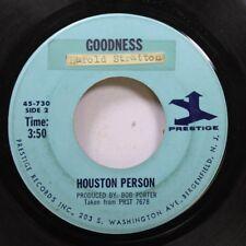 Jazz 45 Houston Person - Goodness / Jamilah On Prestige