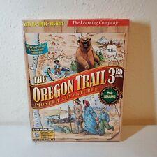 1998 Oregon Trail 3rd Edition Pioneer Adventures 3 CD-ROM SET MAC/PC Brand New