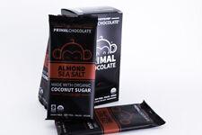 Eating Evolved - Almond Sea Salt - 72% Dark Paleo Chocolate - Box of 8