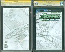 Green Lantern 13 CGC SS 9.8 Blank Sketch Cover Kyle Rayner by Paul Pelletier