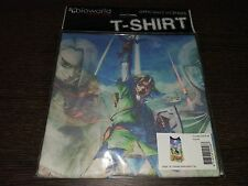T-Shirt Officielle Zelda Skyward Sword Female Sublimation Size M Nintendo