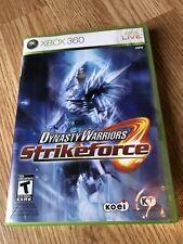 Dynasty Warriors: Strikeforce (Microsoft Xbox 360, 2010) Game ES