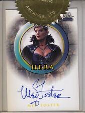 XENA: Beauty & Brawn - Hera 'Meg Foster' Autograph Case Card (Rittenhouse)