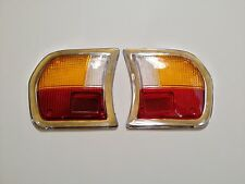 Peugeot 504 Tail Light Lens Set of Two Lenses Left and Right NEW !!  #717AB