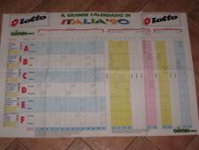 POSTER CALENDARIO CAMPIONATO DEL MONDO CALCIO 1990 @@