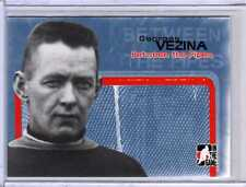 GEORGES VEZINA 04/05 ITG Between the Pipes Goalie #24 Montreal Canadiens Card