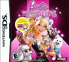 Nintendo DS Barbie: Groom and Glam Pups Game BRAND NEW SEALED FREE SHIPPING