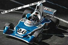 9x6 Photograph , Jacques Laffite  Ligier-Matra JS5 , US GP West  Long Beach 1976