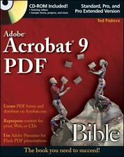 Adobe Acrobat 9 PDF Bible-ExLibrary