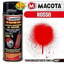 MACOTA Alte Temperature Vernice Spray Pinze Freno Marmitte Tuning Tubo Rosso