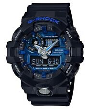 BRAND NEW CASIO G-SHOCK GA710-1A2 G-LIDE BLUE/BLACK ANA-DIGI MEN'S WATCH NWT!!!