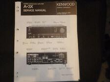 Original Service Manual Schaltplan Kenwood AT-3X