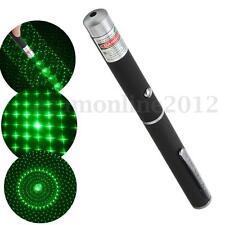 Military 10000m Green 5MW 532NM Laser Pointer Pen Lazer Light Visible Beam Burn