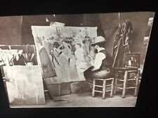 Toulouse-Lautrec Painting La Dande 1887. Art Nouveau 35mm French Art Slide