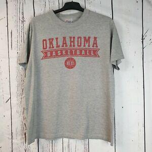 Vintage USA HAYNES BEEFY T Made Oklahoma Basketball BIG II T Shirt  | Size Large