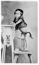 Old Photo. Circus Sideshow Freak Philpeno Child - 4 Legs