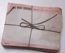 Oct 8 1932 Lamson Goodnow Piece Work Voucher Maunfacturing Pay Ephemera E42B