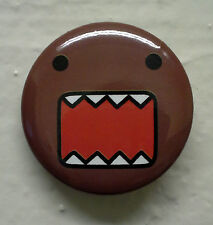 "BRAND NEW Fang Face Domo kun 1.25"" Button Pin Vampire ~ Officially Licensed"