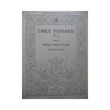 PESSARD Emile 20 Pièces Nouvelles Piano 1885 partition sheet music score