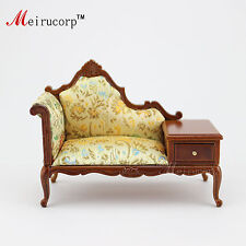 Doll house 1:12 scale Miniature furniture Collectible Handmade Telephone chair