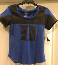 Duke Blue Devils Nike Women's Dri-Fit Fan Shirt Large L Officially Licensed NWT