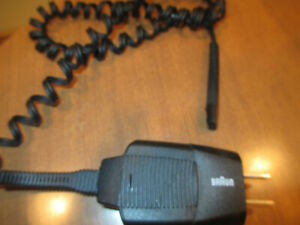 Braun Series 1 Charging cord
