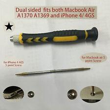 5 Point Star Dual Pentalobe Screwdriver For iPhone 6 6S Macbook Air Pro Retina