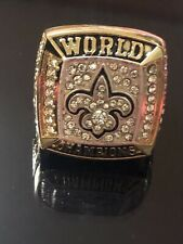 New Orleans Saints Championship Ring MVP Drew Brees Commemorative
