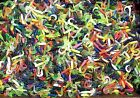 """100 ASSORTED 2"""" Curly Tail GRUBS Crappie Fishing Lures Trout Panfish Perch Baits"""