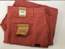 G.H. Bass & Co. NEW Mens Size 36wx34LWilton Chino Weekender $72 NWT Red