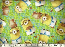 Quilting Treasures ~ Despicable Egyptian Minions ~ 100% Cotton Quilt Fabric BTY