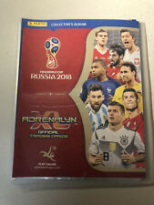 Official Panini FIFA World Cup Russia 2018 Complete 468 Cards + 44 Limited Cards