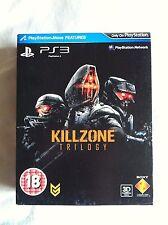 Killzone trilogía Specia Box Set Sony PS3 Playstation 3 * PAL * Nuevo