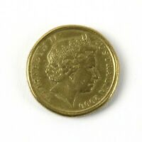 Australia $1 year 2000 mule error coin