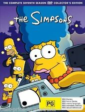 The SIMPSONS: The COMPLETE Season 7 DVD TV SERIES BRAND NEW 4-DISCS BOX SET R4