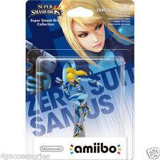 Amiibo Zero Suit Samus No.40 Nintendo Wii U 3DS Super Smash Bros NEW SEALED UK