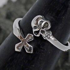 Ringe aus echtem Edelmetall ohne Steine mit Akzentsetzung für Damen